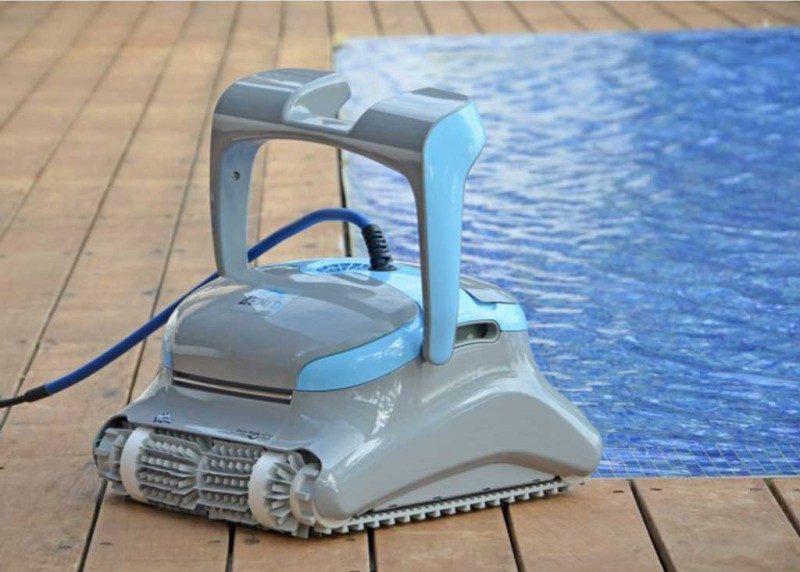 Robot pour nettoyage piscines - Les Horizons Bleus